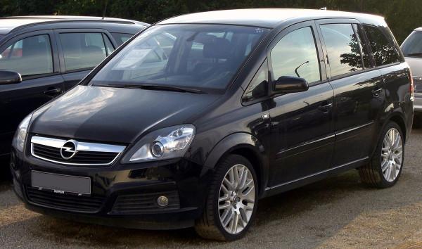 Hak wypinany + moduł Opel Zafira 2005-2014