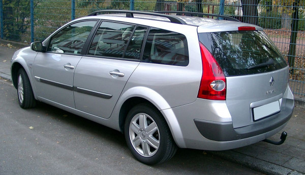 Hak holowniczy + wiązka Renault Megane Kombi 2003-2009