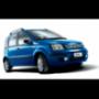 Hak holowniczy + moduł FIAT PANDA II 4x4 2004-2011