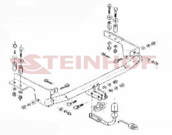Hak holowniczy + moduł FIAT PUNTO II FL 2003-2010