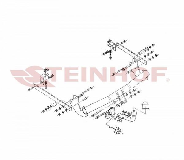 Hak holowniczy + moduł FIAT Scudo II 2007-2016