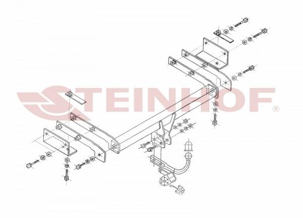 Hak holowniczy + moduł FIAT Stilo Mutliwagon 02-08