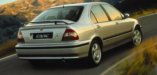 Hak holowniczy + wiązka HONDA CIVIC 5D 1995-2000