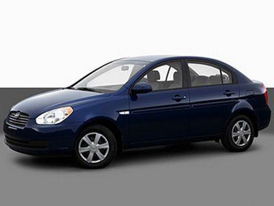 Hak + wiązka HYUNDAI Accent Sedan 2006-2010