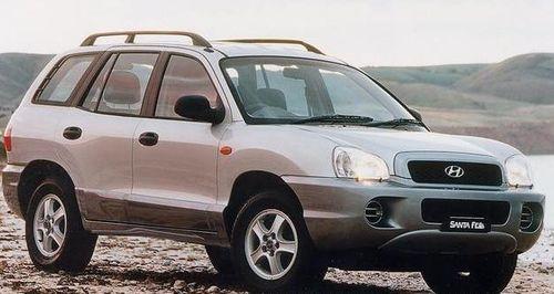 Hak + wiązka HYUNDAI Santa Fe I 2000-2006