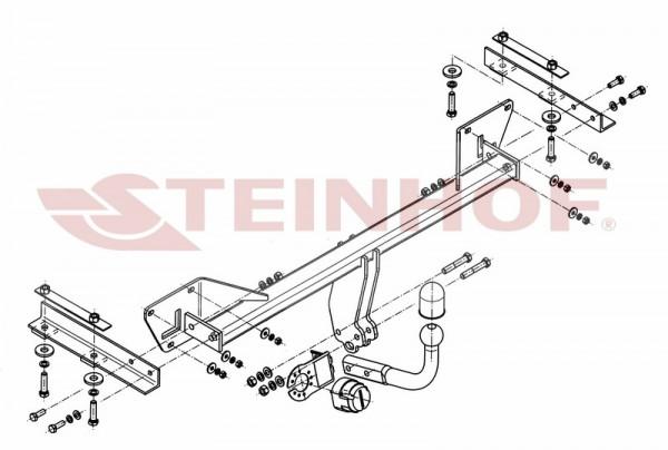Hak holowniczy + moduł ALFA ROMEO Giulietta