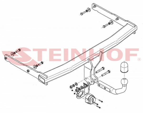 Hak holowniczy + moduł AUDI A6 C7 Allroad od 2012