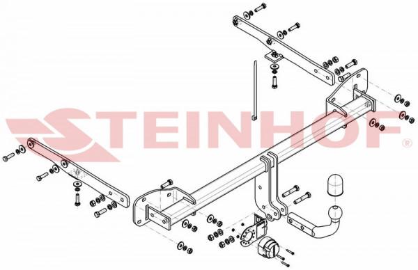 Hak holowniczy + moduł OPEL Astra K Kombi od 2015