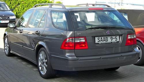 Hak holowniczy + wiązka SAAB 9-5 Kombi 1999-2011