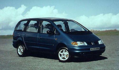 Hak holowniczy + wiązka SEAT Alhambra 1995-2000