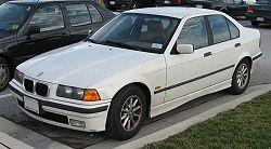 Hak holowniczy + wiązka BMW 3 Sedan E36 1991-1998
