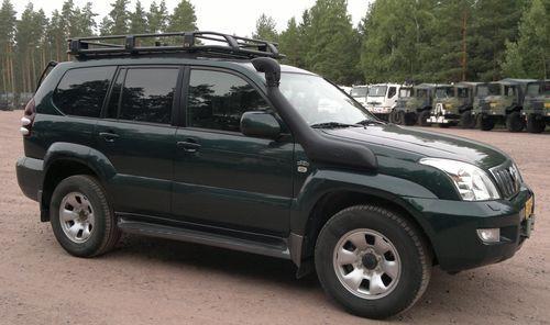 Hak + wiązka TOYOTA Land Cruiser 2003-2009 J120