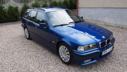 Hak holowniczy + wiązka BMW 3 Kombi E36 1995-1999