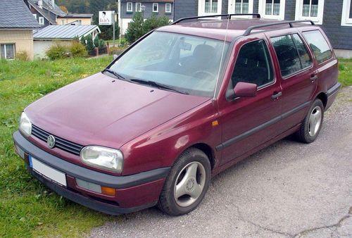 Hak + wiązka VW Golf Mk3 Variant 1993-1999