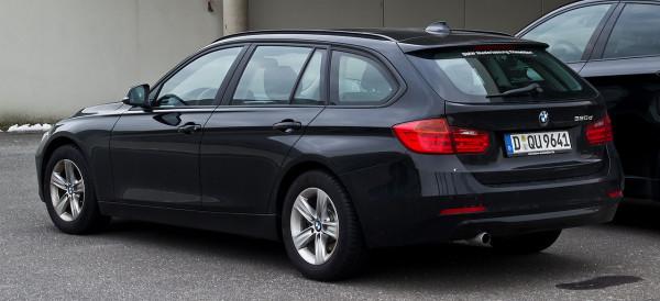 Hak holowniczy + moduł BMW 3 F31 Kombi 2012-2014