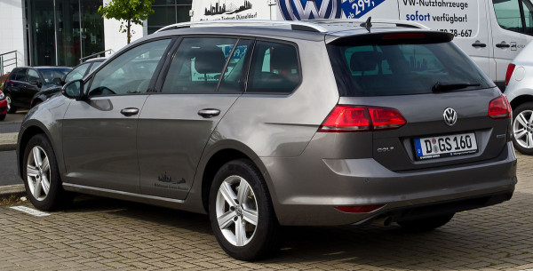Hak + moduł VW Golf Mk7 VII Variant Kombi od 2012