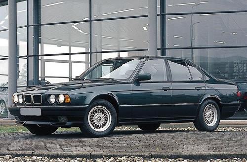 Hak holowniczy + wiązka BMW 5 E34 Sedan 1988-1995