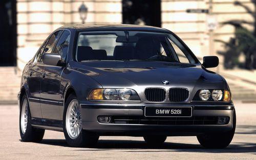Hak holowniczy + moduł BMW 5 E39 Sedan 1995-2003