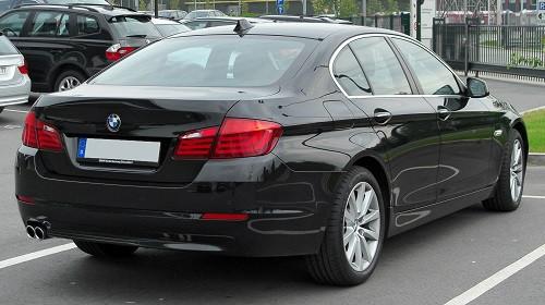 Hak holowniczy + moduł BMW 5 F10 FL Sedan od 2014