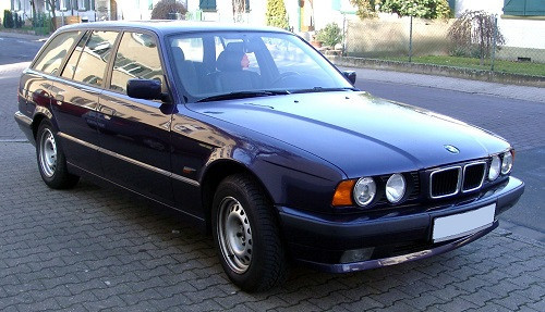 Hak holowniczy + wiązka BMW 5 E34 Kombi 1992-1997