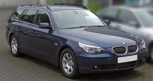 Hak holowniczy + moduł BMW 5 E61 Kombi 2004-2010