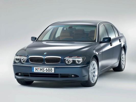 Hak wypinany + moduł BMW Serii 7 E65/E66 2005-2008