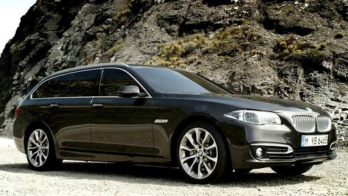 Hak holowniczy + moduł BMW 5 F11 FL Kombi od 2014