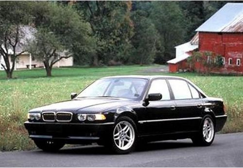 Hak holowniczy + wiązka BMW 7 E38 Sedan 1994-2001