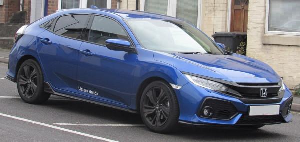 Hak wypinany + moduł HONDA Civic X 5D od 2017