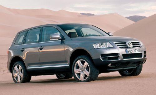 Hak wypinany + moduł VW Touareg I 2002-2010