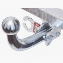 Hak holowniczy ocynkowany + wiązka AUDI A3 8L (1996-2003) odkręcany