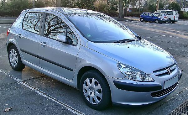 Hak wypinany + wiązka Peugeot 307 HTB 2001-2005