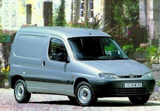 Hak wypinany + wiązka Peugeot Partner 1996-2008