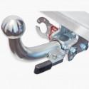 Hak wypinany + moduł Peugeot Partner II od 2008