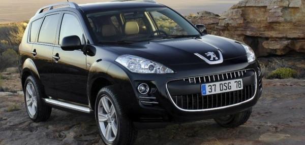 Hak wypinany + wiązka Peugeot 4007 od 2007