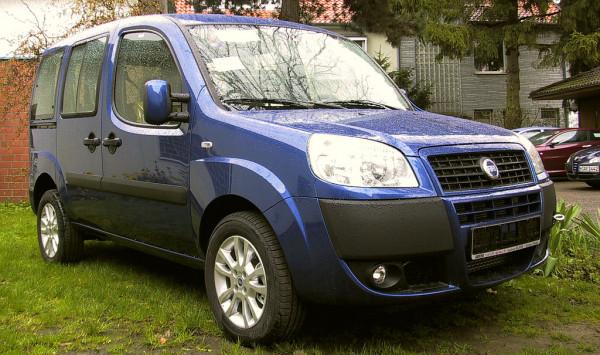 Hak holowniczy + moduł Fiat Doblo 2000-2009
