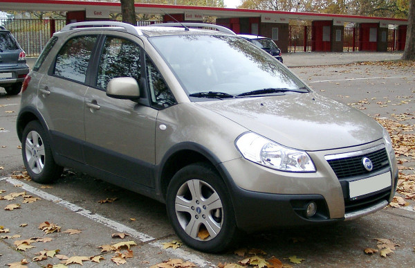 Hak holowniczy + wiązka Fiat Sedici 2006-2014
